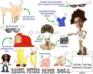The Rachel Peters Paper Doll