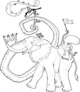 Lonely Elephant Parade