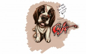 Li'l Cujo, Tablet Sketch
